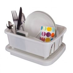 Kampa Washing up Dish Storage Drainer - Dish Drainers - Caravan Kitchen Accessories - Cooking