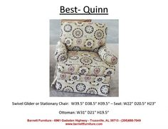 Best Quinn Chair  You Choose the Fabric