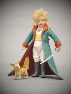 Just arrived! The Little Prince and Fox from R John Wright