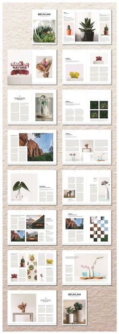 Beuklam Magazine Beuklam Magazine,Layout for Print Features: 32 Pages & US-Letter) Clean and professionally designed using Adobe InDesign Compatible with InDesign – Includes IDML file (for versions under Print ready. Layout Design Inspiration, Magazine Design Inspiration, Page Layout Design, Design Blog, Portfolio Design, Web Design, Blog Layout, Portfolio Ideas, Design Ideas