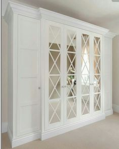 Free Standing Closet with Doors . Free Standing Closet with Doors . 45 fortable and Suitable Wardrobe Design for Big & Small Interior Closet Doors, French Closet Doors, Bedroom Closet Doors, Bedroom Cupboards, Ikea Bedroom, Bedroom Wardrobe, Mirrored Bedroom, Entryway Closet, Bedroom Storage