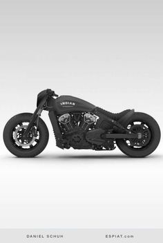 Der indische Scout Bobber Umbau Racing Dragster Styler – Die besten C… The Indian scout bobber tag school Racing Dragster Styler – The Best Chopper and Bobber Curated by Daniel Schuh – Triumph Motorcycles, Cool Motorcycles, Vintage Motorcycles, Indian Motorcycles, Chopper Motorcycle, Motorcycle Outfit, Bobber Chopper, Bobber Motorcycle For Sale, Harley Bobber