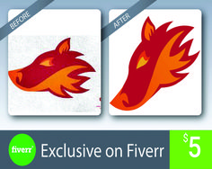 Make your Image raster to vector Convert Image To Vector, Vector Creator, Raster To Vector, Logo Design, Graphic Design, Your Image, Make It Yourself, Graphics, Projects