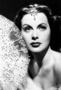 Hedy Lamar, stunning b&w Hollywood style