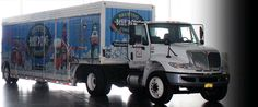 Blue Point Beer Delivery Truck