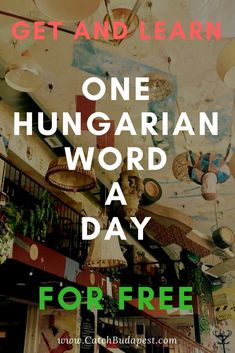 Learn and Get One Hungarian Word a Day for FREE. OHWAD boosts your vocab in a fun and engaging way (for FREE) by sending you One Hungarian Word a Day with all the necessary information to learn it easily! Background Information, I 9, Folk Fashion, 9 Year Olds, Word Of The Day, Way Of Life, Hungary, Get One, Budapest