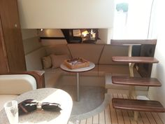 Cruisers Yachts 380 Express...ours is 350 Express but interior is same, this is aft cabin
