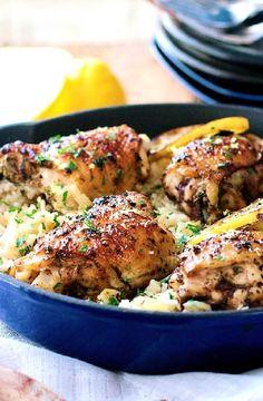 Low FODMAP Recipe and Gluten Free Recipe - Jerk chicken with rice http://www.ibs-health.com/low_fodmap_jerk_chicken_rice.html