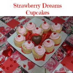 Strawberry Dreams Cupcakes Recipe at  http://crtvlsy.ca/2lDBjbU