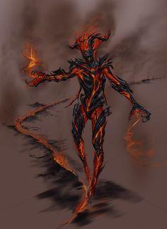 Fire Atronach | Skyrim