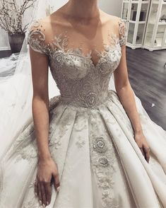 Wedding dress with gorgeous details that absolutely breathtaking A gorgeous wedding dress is a must-have for the day. Finding stunning wedding dresses to choose from is so much more involved than a. SEE DETAILS Stunning Wedding Dresses, Custom Wedding Dress, Country Wedding Dresses, Princess Wedding Dresses, Best Wedding Dresses, Boho Wedding Dress, Boho Dress, Bridal Dresses, Beautiful Dresses