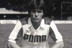 """PUMA 1990 PUMA KING player Lothar Matthäus leads Germany to the country's World Cup title in Italy. The captain of the national team is also voted """"European Footballer of the Year"""", """"World Footballer of the Year"""" and """"World Athlete""""."""