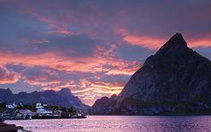 Arctic Sunset: Norway