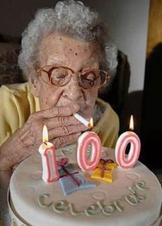 100 years old and still smoking? Say no to smoking and start vaping so that you can reach her age! Find out how in www.nexxton-ecig.com