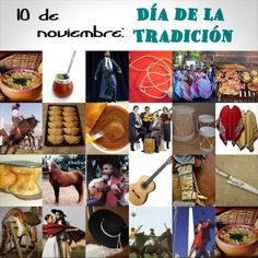 Carteles e imágenes para conmemorar el Día de la Tradición Argentina | Saberimagenes.com Gaucho, Folklore, Poster, Painting, Selfie, Crochet, Ideas, Vestidos, Happy Independence Day