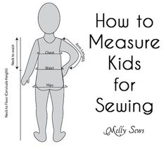 Sewing Tip: How to Measure Kids for Sewing Projects