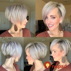 Long-Straight-Pixie-Cut Short Straight Hairstyles 2019 - New Hair Styles Cool Short Hairstyles, Short Hair Updo, Short Hair Cuts, Curly Hair Styles, Hairstyles 2018, Funky Short Hair Styles, Undercut Short Bob, Wavy Hair, Short Asymmetrical Hairstyles