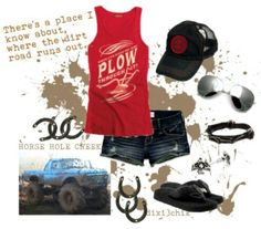 Country Mudding Outfit