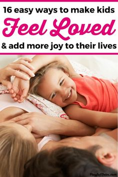 things that will make your kids feel loved : Discover 16 simple ways to connect and make kids feel loved every day. These great ideas are easy to put into practice and they mean so much for the children! Parenting Toddlers, Kids And Parenting, Parenting Hacks, Parenting Quotes, Parenting Plan, Foster Parenting, Practical Parenting, Parenting Classes, Parenting Styles