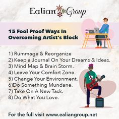 15 Fool Proof ways In overcoming artists block to help you further in your creative career. Keeping A Journal, This Is Us Quotes, The Fool, You Changed, Something To Do, Dreaming Of You, Career, Mindfulness, Artists