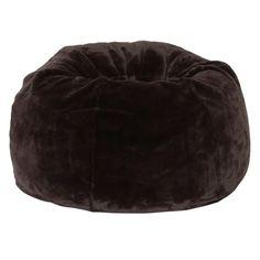 878f4e01d5a1 Coffee Luxe Faux Fur Beanbag  pbteen Fur Bean Bag
