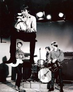 """The Monkees filming the video for """"Valerie"""""""
