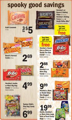 New $1.00/2 Mars Fun Size Candy Coupon   Meijer and Kroger Deals ...