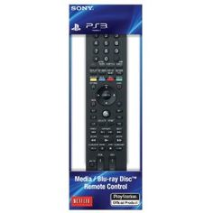 Sony PS3 Media/Blu-ray Disc Remote Control --- http://www.amazon.com/Media-Blu-ray-Remote-Control-Playstation-3/dp/B0050SX9I2/?tag=mywelost0e-20