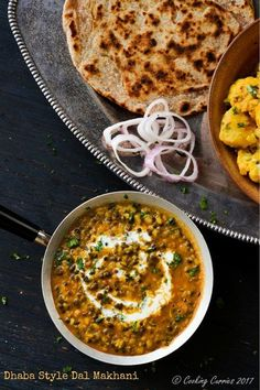 Dhaba Style Dal Makhani  Indian Food - Vegetarian