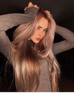 Exceptional Hair trends tips are offered on our site. Check it out and you wont be sorry you did. Hair Inspo, Hair Inspiration, Tips Belleza, Dream Hair, Gorgeous Hair, Amazing Hair, Dead Gorgeous, Pretty Hairstyles, Beautiful Haircuts