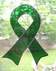 Green ribbon: Kidney cancer awareness