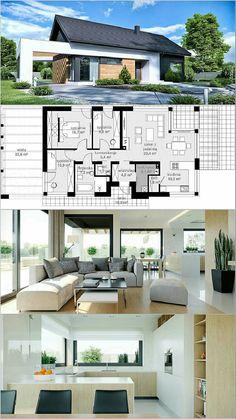 Ez lesz az igazi home plans di 2019 house design, house layo Sims House Plans, House Layout Plans, Bungalow House Plans, New House Plans, Dream House Plans, House Layouts, Small House Plans, House Floor Plans, Casas The Sims Freeplay