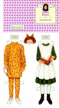 American Girl Paper Dolls .This From sillymyome - MaryAnn - Picasa Web Albums