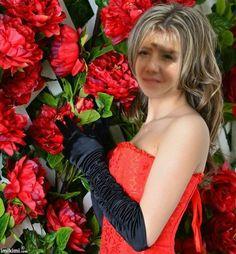 karku_nya's Face Cut-Out Frames - 2013 June - Girl Margo Karku Nya face Cut Outs Face Cut Out, Beautiful Eyes, Red Roses, Strapless Dress, Formal Dresses, Girls, Fashion, Roses, Sweetie Belle