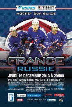Match Amical France - Russie 19 décembre 2013 - Marseille