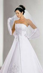 David's Bridal 5268 Wedding Dress $150