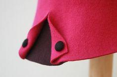 Pink Cloche