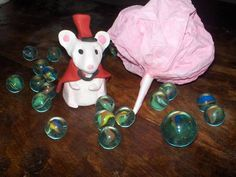 Coraline Circus Mouse - POTTERY, CERAMICS, POLYMER CLAY