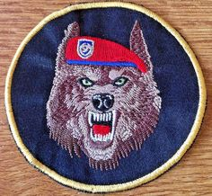 SERBIA ARMY - Unit for Special Operations RED BERETS - sleeve patch