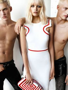 Abbey Lee Kershaw by Mario Testino for Versace Spring 2011 Campaign