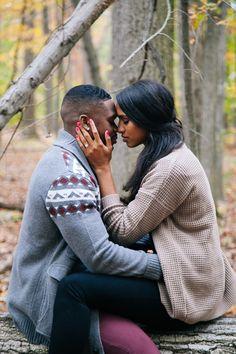 Lovely engagement shoot. #love #blacklove