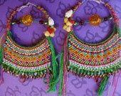 La Maîtresse des épices(Chitra Banerjee Divakaruni) : Boucles d'oreille par kokopelli sur ALittleMarket