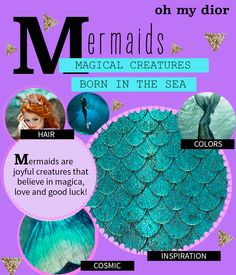 Mermaids in clothes