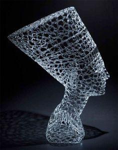 Share Good Stuffs: Beautiful Transparent Glass Sculptures By Robert Mickelsen