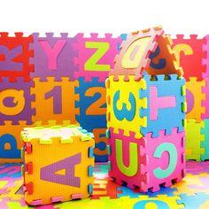 $38.43 - Nice 36pcs/set Children Puzzle Play Mat Baby EVA Foam Kids Rug Carpet Playmat Educational Toys for Infant Boys Girls 15.5cm*15.5cm - Buy it Now!