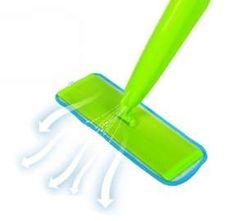 ممسحة أرضية مع بخاخ - بواسطة هذه الممسحة بامكانك تنظيف وتعقيم السيراميك و الرخام في وقت قصير!