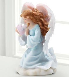 The Tearful Heart Memorial Angel Figurine is an exquisite piece that will help them to commemorate the life of the deceased in graceful beauty. Gorgeously crafted, this kneeling angel holds... More Details