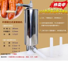 Cheap filler machine, Buy Quality filler material directly from China machinery grease Suppliers: Free shipping and fast delivery-hand sausage maker 3L,manual sausage stuffer,sausage filler machine,sausage making mach