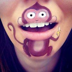Asombrate viendo lo que puedes hacer con tus labios