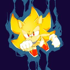 super sonic by dkwjd96 on DeviantArt